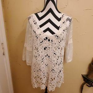 Lace/Crochet Top